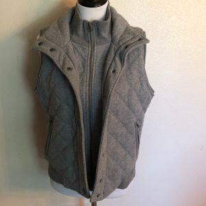Aeropostale Zip/Button Up Vest